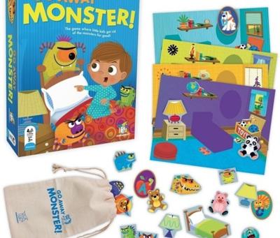 「Go Away Monster(お化け出て行け!)」スキルアップゲーム紹介10