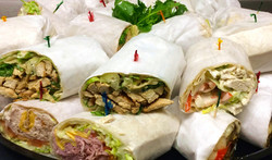Assorted Lunch Wraps Catered