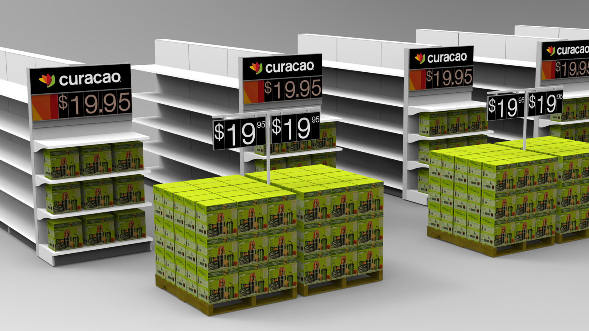 Curacao Price Signs