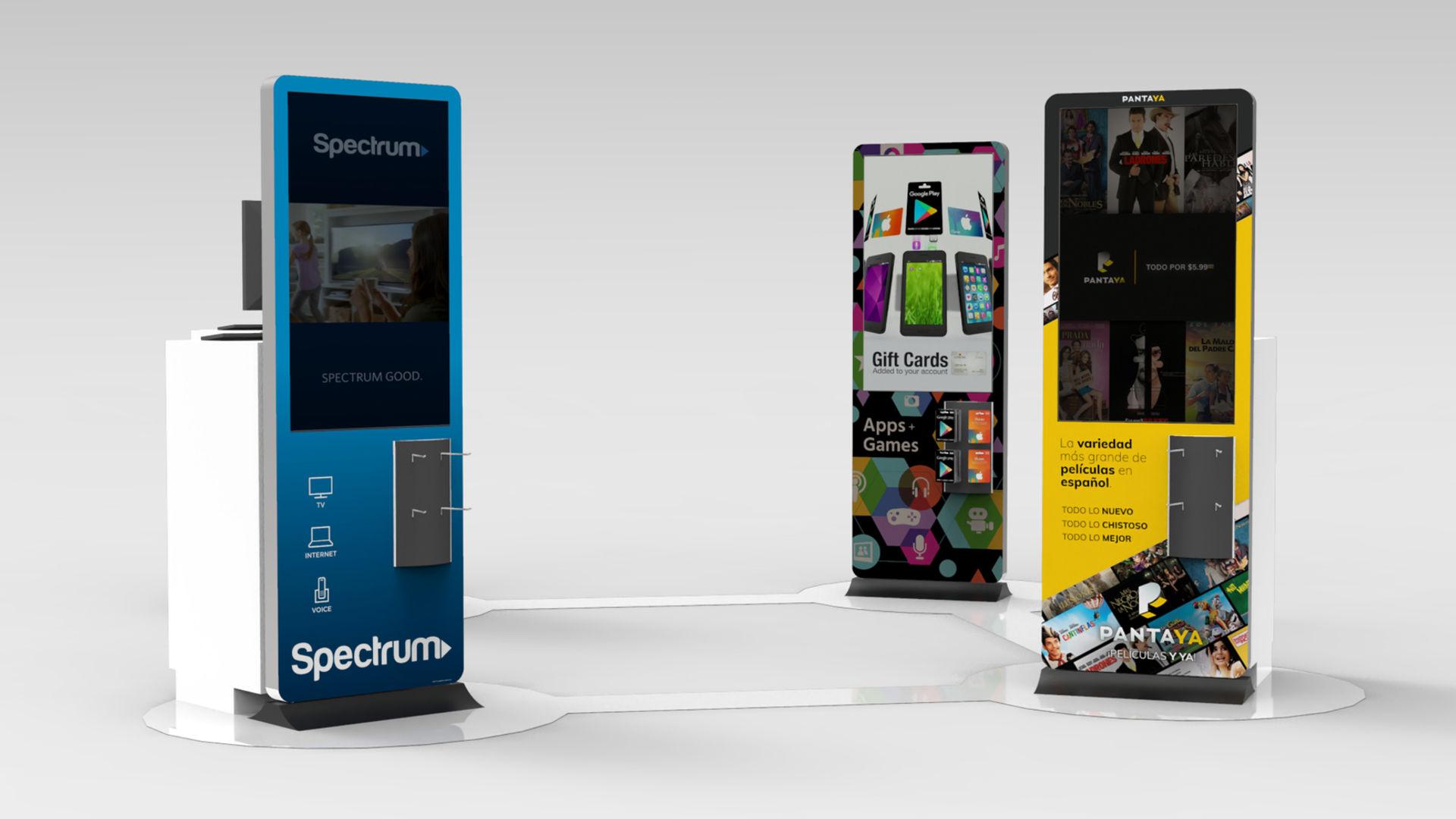 Spectrum, Pantaya (Lionsgate), Google Play Content Kiosks