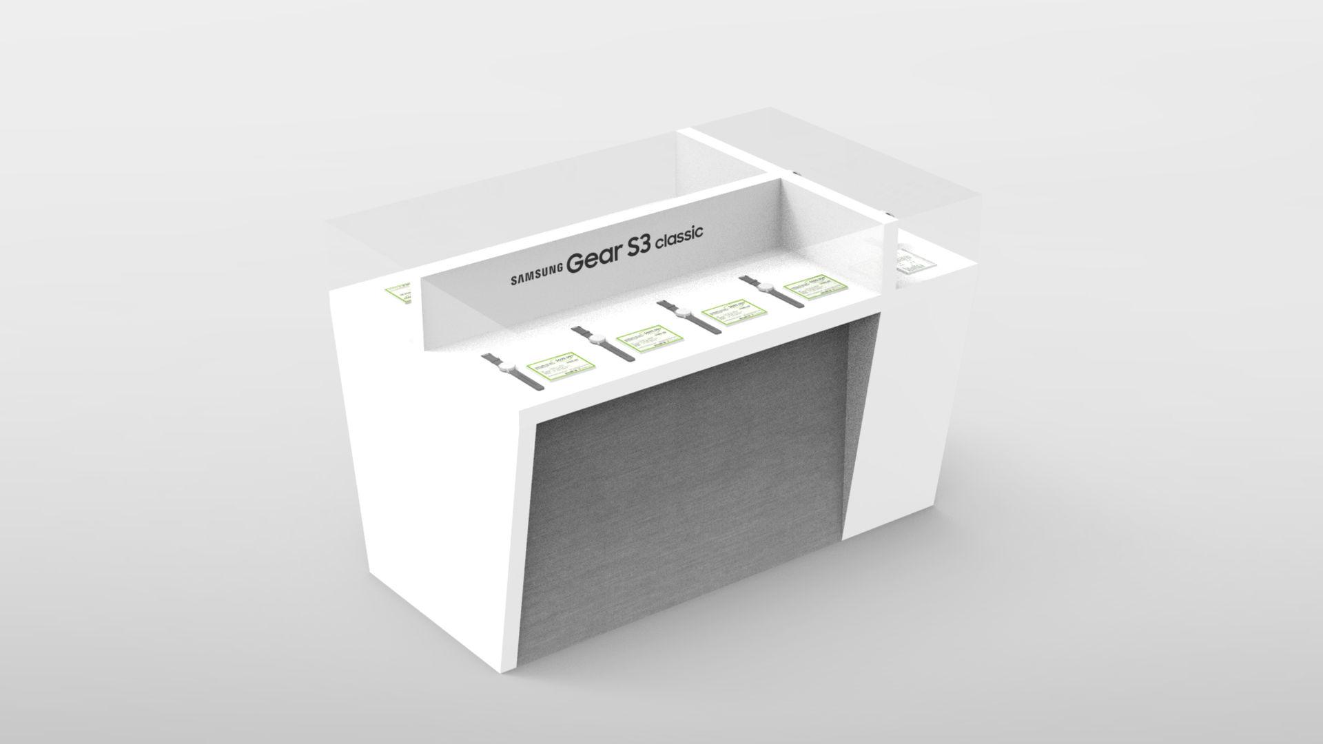 Samsung Gear Display