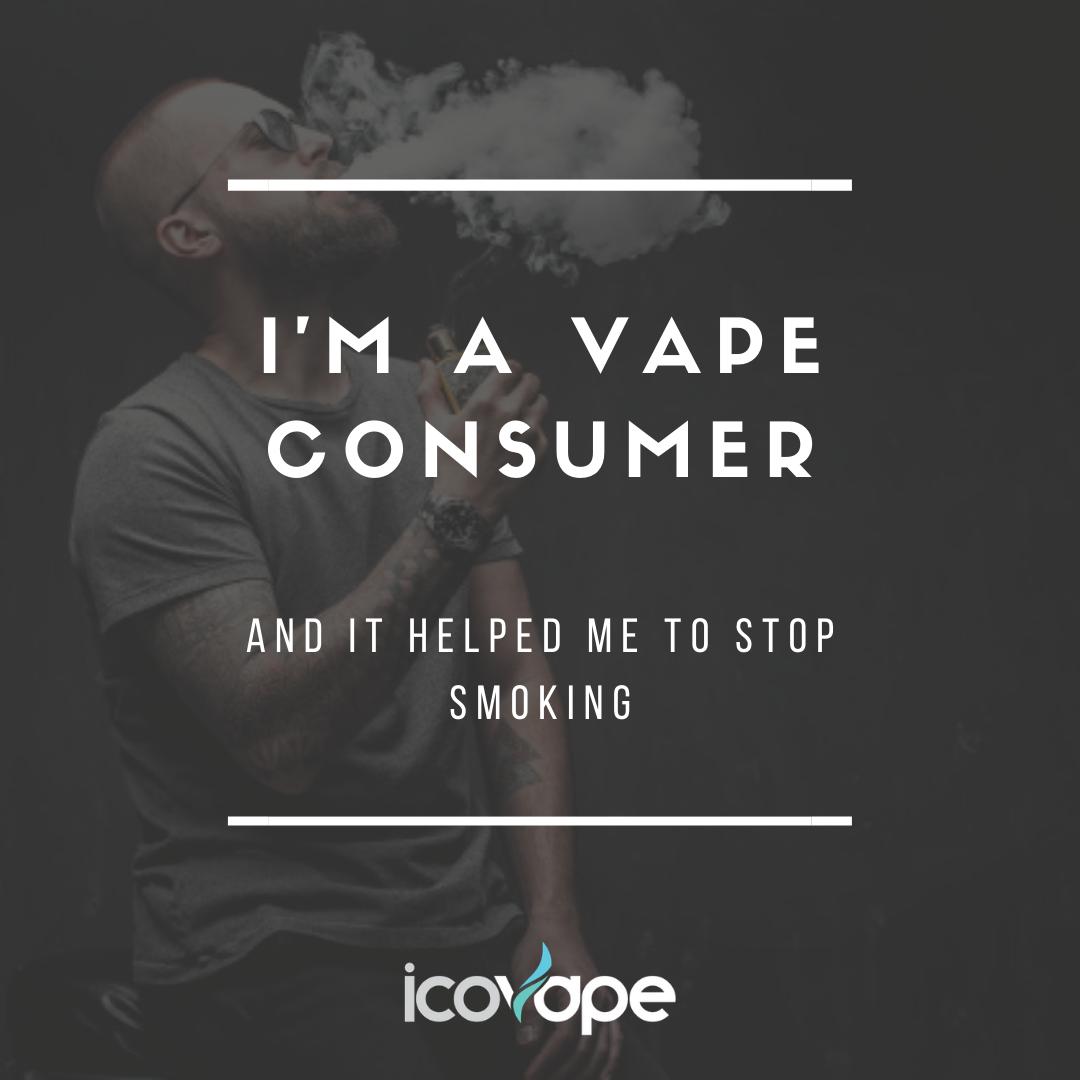 I'm a vape consumer