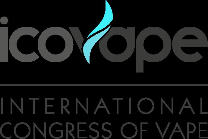 Grand logo Icovape gris