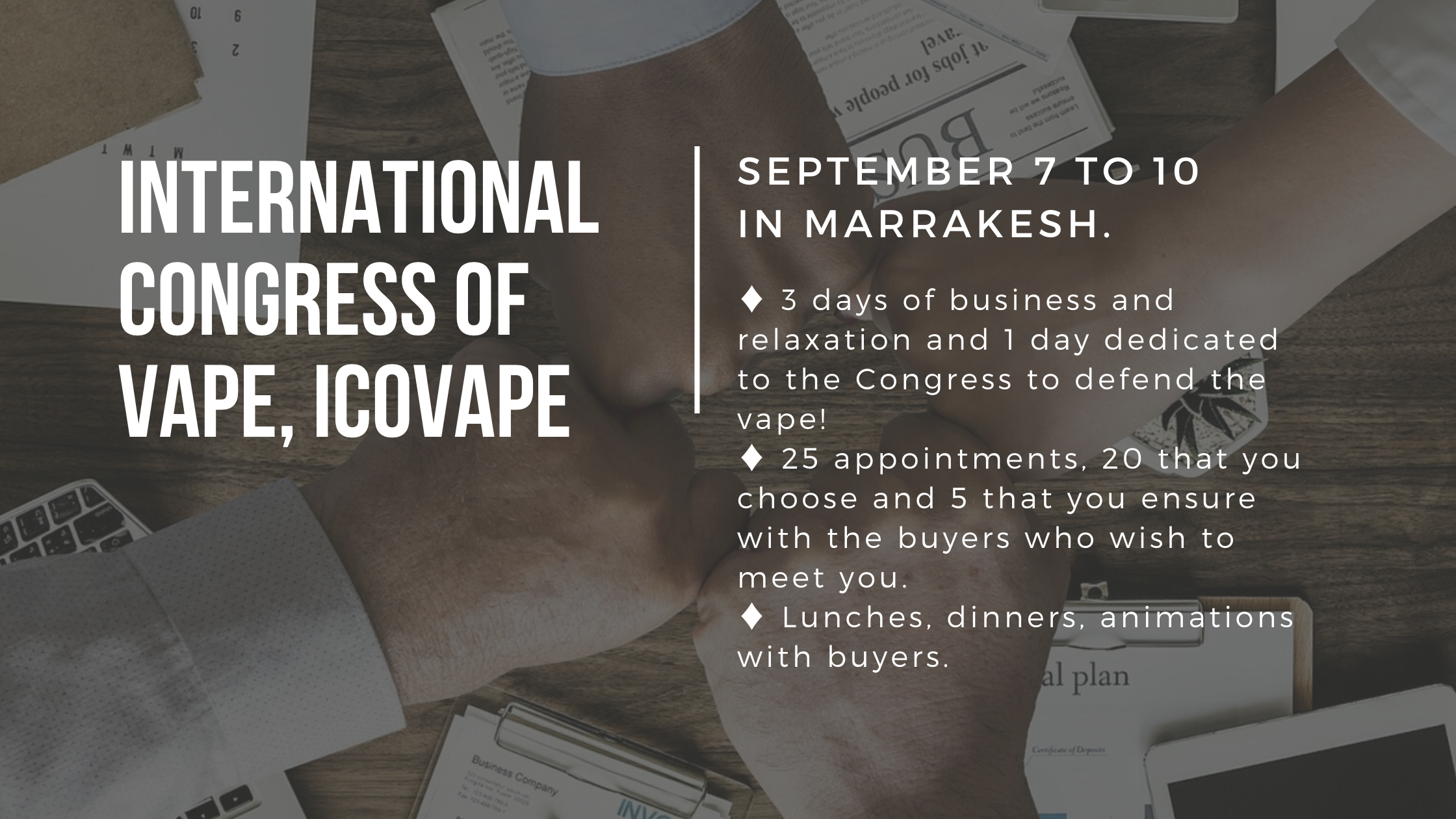 International Congress of vape, icovape