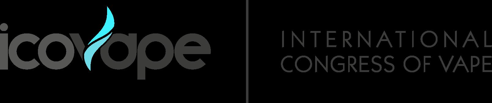Logo long Icovape gris
