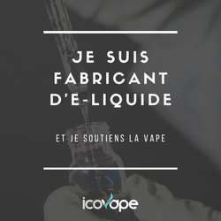 Je suis fabricant d'e-liquide