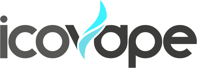 Logo court Icovape gris