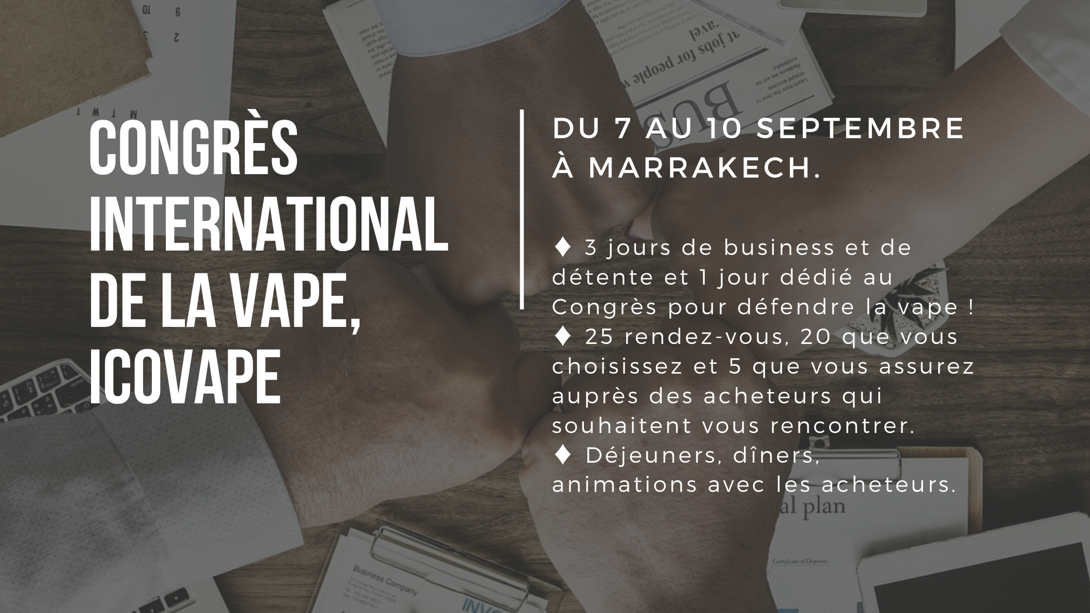 Congrès International de la vape