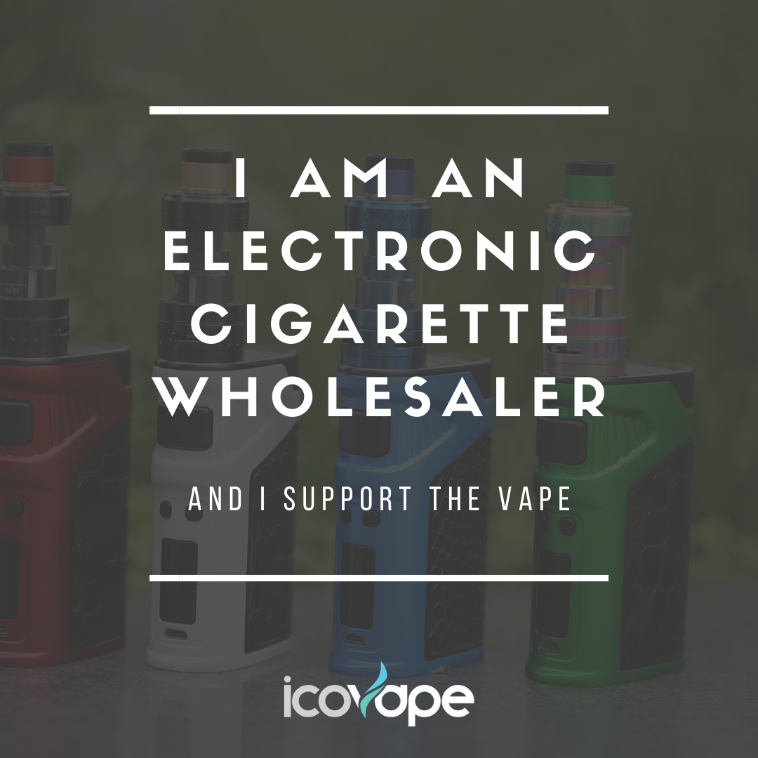 I am an electronic cigarette wholesaler