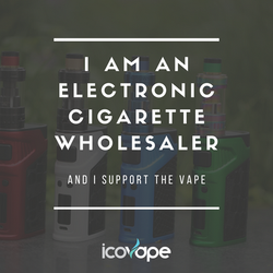 I am an electronic cigarette wholesaler
