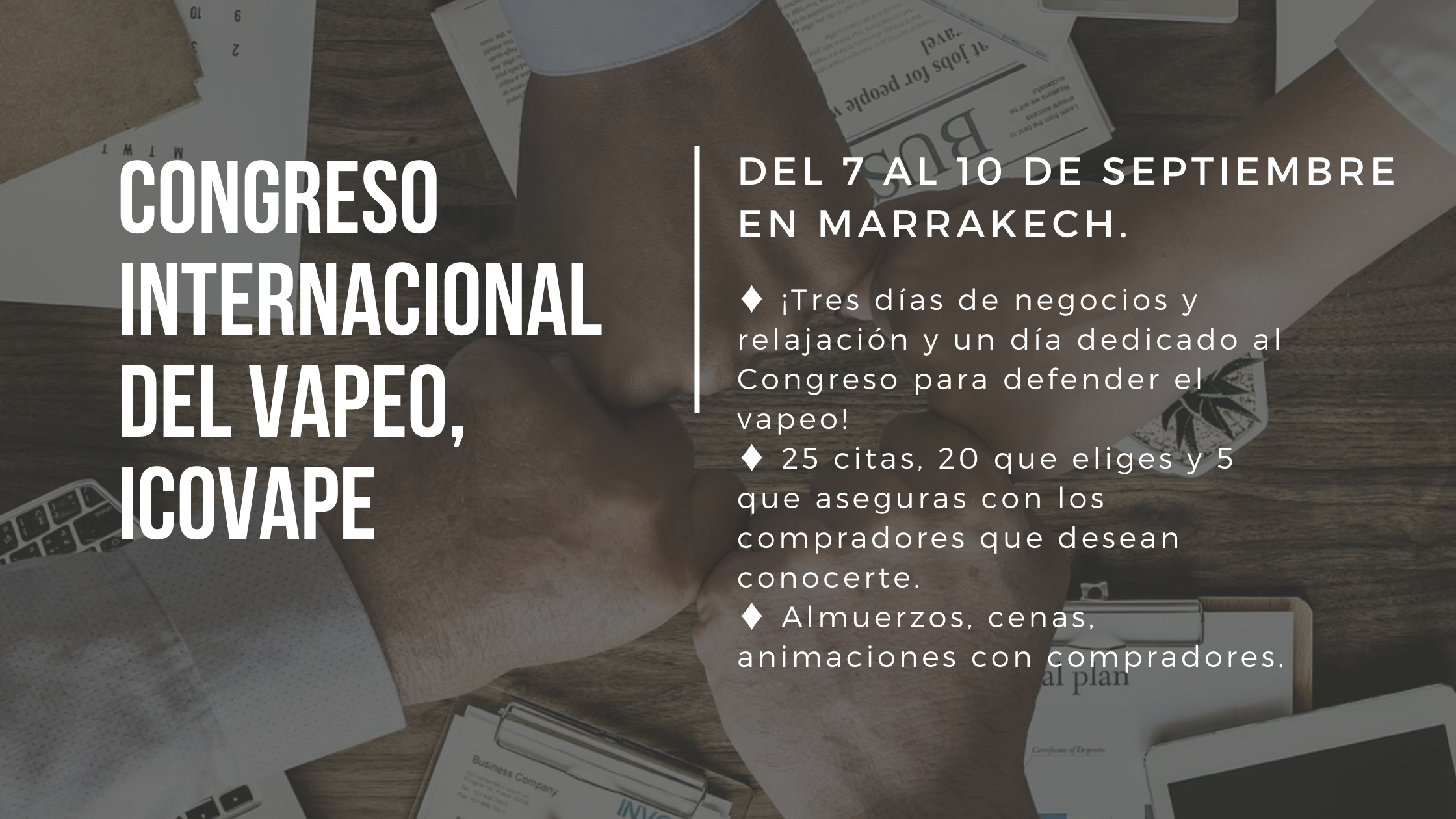Congreso internacional del vapeo, Icovape
