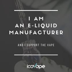 I am an e-liquid manufacturer