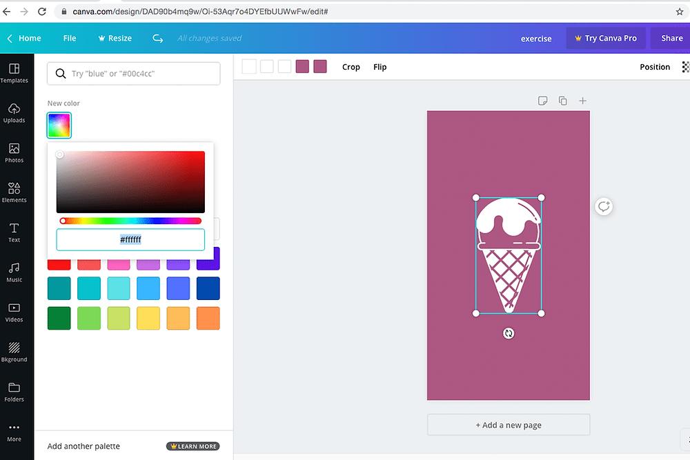 Kleur van Instagram hoogtepunt cover wijzigen