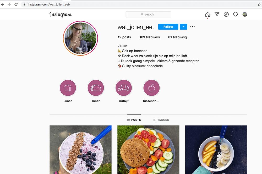 Hoogtepunt Instagram covers