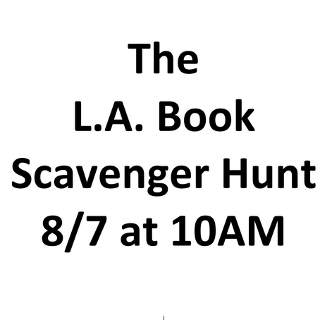Next Scavenger Hunt on August 7th at 10AM!