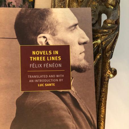 Felix Feneon's Novels in Three Lines