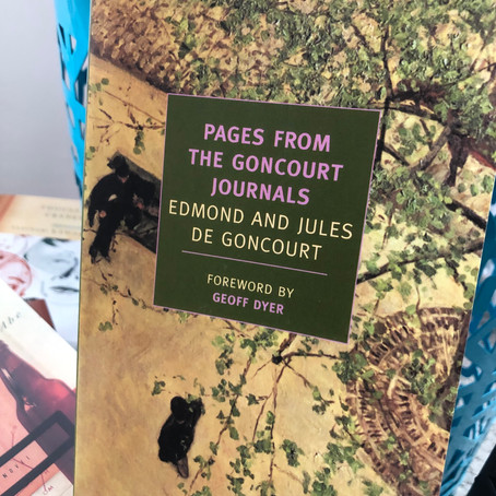 Edmond and Jules Goncourts' Journals