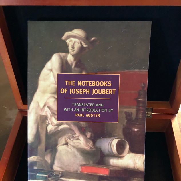 Joseph Joubert's Notebooks