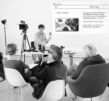 DSLR Setfoto, Dieser Workshop richtet sich an alle Interessierte die den Einstieg in das Videofilmen mit einer digitalen Kamera erlernen wollen.