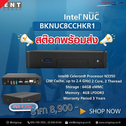 NUC8CCHKR1   Intel® Celeron® Processor N3350 (2M Cache, up to 2.4 GHz)