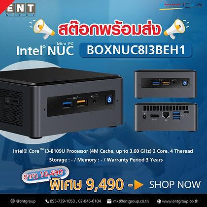 NUC8I3BEH1   Intel® Core™ i3-8109U Processor (4M Cache, up to 3.60 GHz)