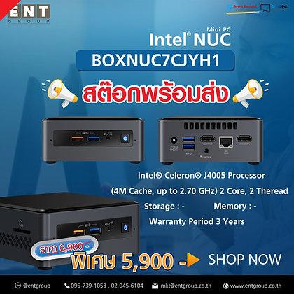 NUC7CJYH1   Intel® Celeron® J4005 Processor (4M Cache, up to 2.70 GHz)