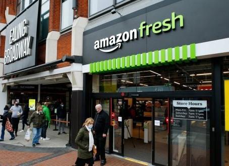 Amazon Fresh apre uno store a Londra, il primo fuori dagli States