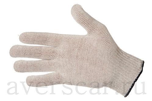 Перчатки рабочие 10 класс 3 нити, белые