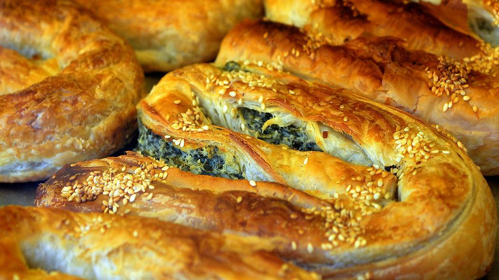 Balkan Börek Käse-Spinat