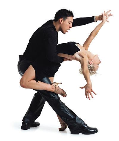 Tango dance couple