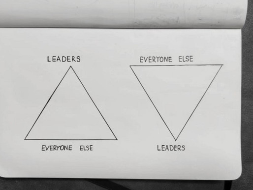Turn the pyramid: the definition, practices and path to become a serving leader
