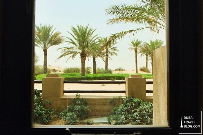 view from hotel room bab al shams