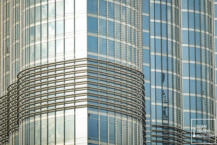 burj khalifa close up