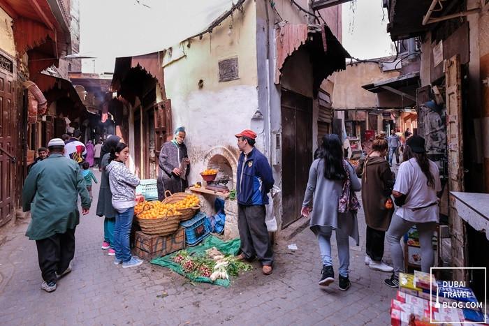 walking tour of medina in fez