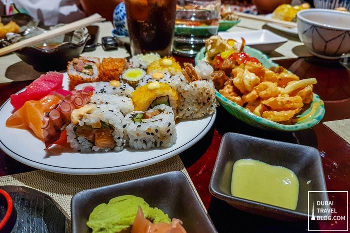 minato unlimited sushi teppanyaki