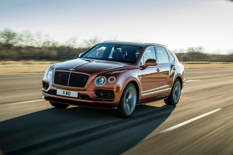Bentley SUV Bentayga Speed
