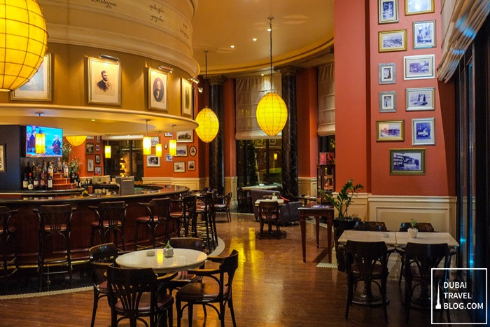 parnas cafe restaurant lounge tbilis marriott