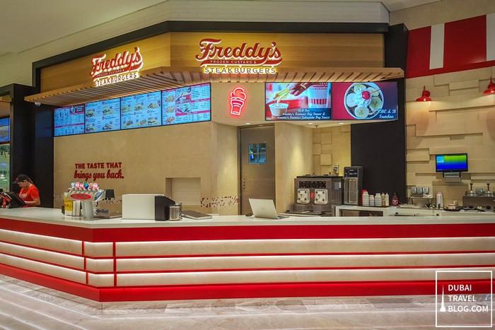 freddys steakburgers dubai mall