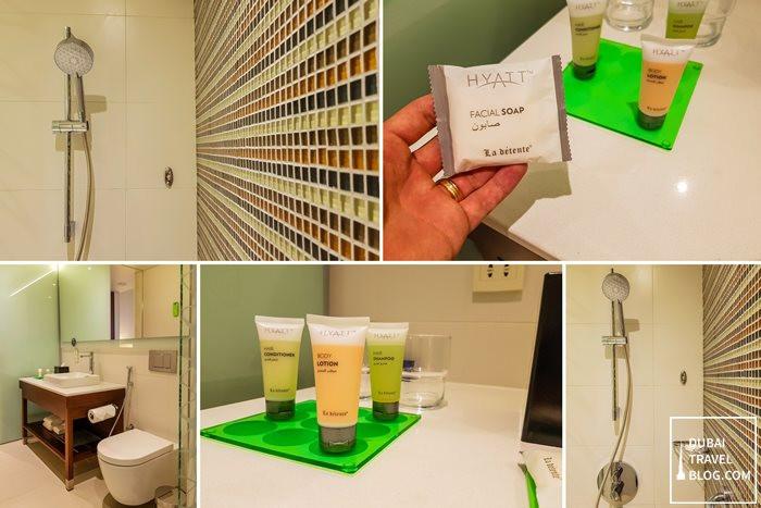Hyatt Place Dubai Wasl bathroom