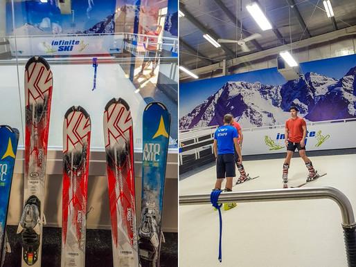 Learning to Ski Indoors at Infinite SKI in Al Quoz