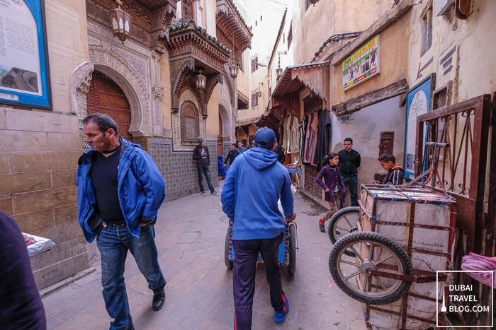 alleys fes morocco