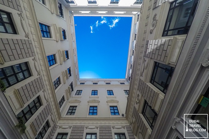patio at Tbilisi Marriott Hotel