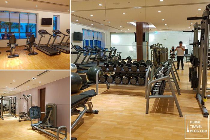 hyatt place dubai jumeirah fitness center