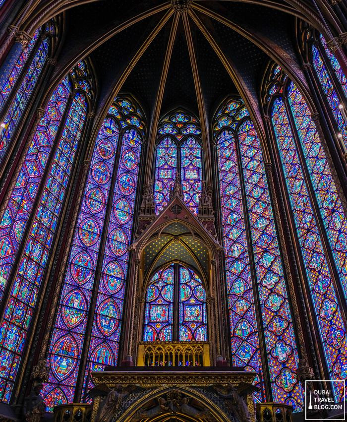 stained glass windows sainte chapelle