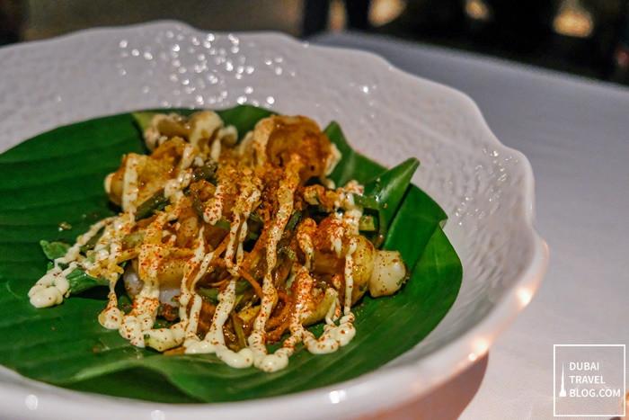 butter and garlic shrimps tresind