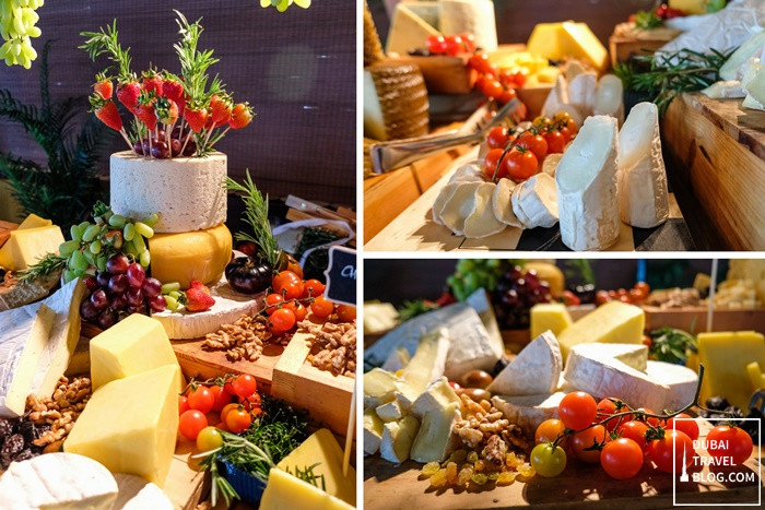 waves restaurant fujairah rotana cheese station