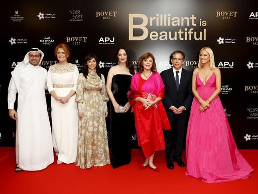 Hollywood Stars at the Bovet 1822 'Brilliant is Beautiful' Gala