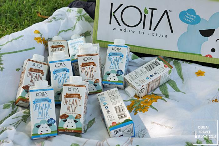 dubai organic milk - koita