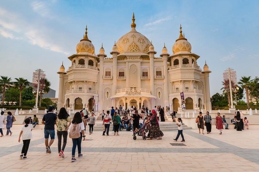 Bollywood Parks Dubai Ramahal