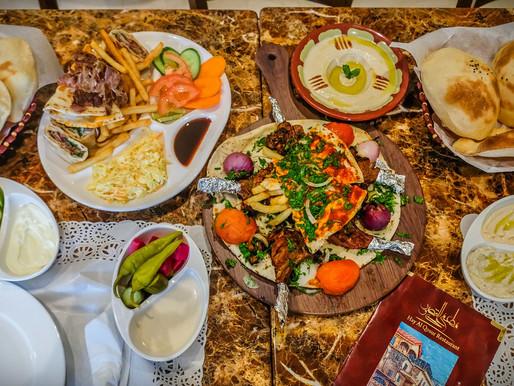 Arabic Food at Hay Al Qosur Restaurant in Al Nasserya, Sharjah
